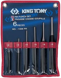 Набор выколоток, 6 предметов KING TONY 1006PR - фото 11028