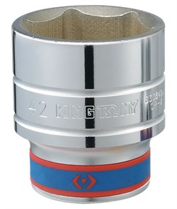 "Головка торцевая стандартная шестигранная 3/4"", 63 мм KING TONY 633563M - фото 11062"