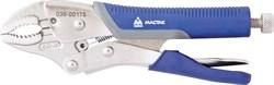 Зажим с фиксатором 175 мм, фигурные губки МАСТАК 036-00175H - фото 11234