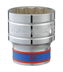 "Головка торцевая стандартная двенадцатигранная 1/2"", 32 мм KING TONY 433032M - фото 11254"