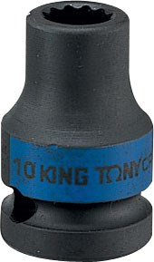 "Головка торцевая ударная двенадцатигранная 3/4"", 24 мм KING TONY 653024M - фото 11307"