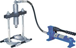 Съёмник подшипников гидравлический, 8 т, до 220 мм, сегментного типа, 3 предмета МАСТАК 104-19408 - фото 11314