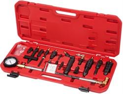 Компрессометр дизельный, 0-70 атм, комплект адаптеров МАСТАК 120-12070C - фото 11335