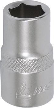 """Головка торцевая стандартная шестигранная 1/2"""", 21 мм МАСТАК 000-40021 - фото 11346"""