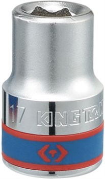 "Головка торцевая стандартная шестигранная 3/4"", 18 мм KING TONY 633518M - фото 11350"