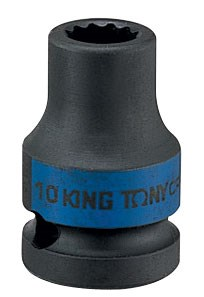 "Головка торцевая ударная двенадцатигранная 1/2"", 20 мм KING TONY 453020M - фото 11389"