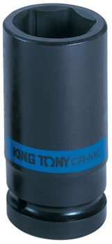 "Головка торцевая ударная глубокая шестигранная 1"", 38 мм KING TONY 843538M - фото 11394"