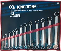 Набор накидных ключей, 6-32 мм 12 предметов KING TONY 1C12MR - фото 11416