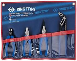 Набор пассатижей и бокорезов, 4 предмета KING TONY 42104GP01 - фото 11442