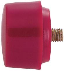 Насадка сменная для молотка серии 7842, полиуретан, 28 мм, твердая KING TONY 91528H - фото 11470