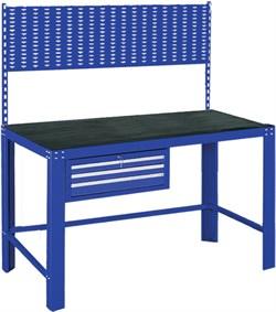 Верстак инструментальный, ящик, задняя панель, синий МАСТАК 541-11515B - фото 11514
