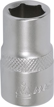 """Головка торцевая стандартная шестигранная 1/2"""", 13 мм МАСТАК 000-40013 - фото 11523"""