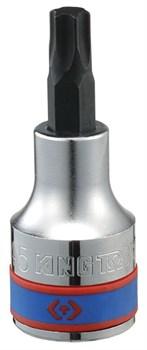 """Насадка (бита) торцевая 1/2"""", TORX, T40, L = 60 мм KING TONY 402340 - фото 11532"""