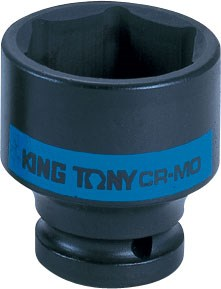 "Головка торцевая ударная шестигранная 1/2"", 16 мм KING TONY 453516M - фото 11541"