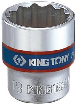 "Головка торцевая стандартная двенадцатигранная 3/8"", 11 мм KING TONY 333011M - фото 11593"