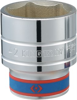 "Головка торцевая стандартная шестигранная 3/4"", 56 мм KING TONY 633556M - фото 11619"