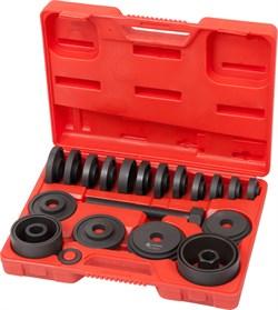 Набор оправок для монтажа и демонтажа ступичных подшипников, кейс, 22 предмета МАСТАК 100-30022C - фото 11642