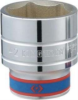 "Головка торцевая стандартная шестигранная 3/4"", 51 мм KING TONY 633551M - фото 11645"