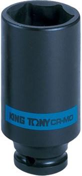 "Головка торцевая ударная глубокая шестигранная 1/2"", 29 мм KING TONY 443529M - фото 11656"