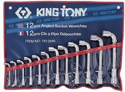 Набор торцевых L-образных ключей, 8-24 мм, 12 предметов KING TONY 1812MR - фото 11661