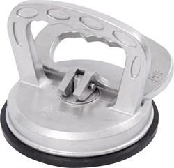 Съемник стекол вакуумный, металлический, одинарный, 100 мм, до 50 кг МАСТАК 107-01050 - фото 11678