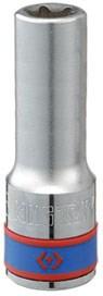 "Головка торцевая TORX Е-стандарт 1/2"", E22, L = 77 мм KING TONY 427522M - фото 12956"