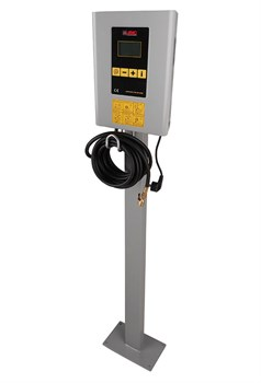 Раздаточная колонка для накачки шин с цифровым LCD дисплеем (с подставкой) 220В - фото 20388