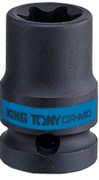 "Головка торцевая ударная TORX Е-стандарт 1/2"", E14, L = 38 мм KING TONY 457514M"