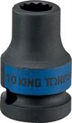 """Головка торцевая ударная двенадцатигранная 3/4"""", 24 мм KING TONY 653024M"""