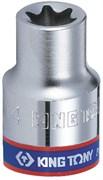 "Головка торцевая TORX Е-стандарт 1/4"", E8, L = 24 мм KING TONY 237508M"