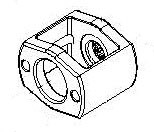 Ремкомплект для гайковерта 33411-040, обойма для молотков KING TONY 33411-A34
