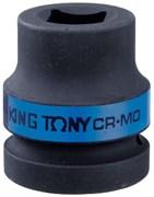 """Головка торцевая ударная четырехгранная 1"""", 19 мм, футорочная KING TONY 851419M"""