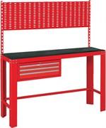 Верстак инструментальный, ящик, задняя панель, красный  МАСТАК 541-11500R