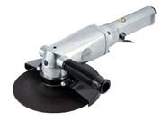 Пневматическая угловая шлифовальная машина (УШМ) 180 мм, 7000 об/мин, с рычажным выключателем MIGHTY SEVEN QB-117