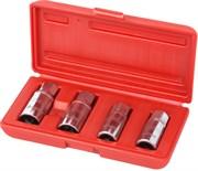 Набор шпильковертов, 6, 8, 10, 12 мм, эксцентриковые, 4 предмета МАСТАК 109-20004