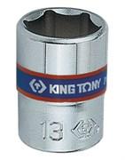 "Головка торцевая стандартная шестигранная 1/4"", 13 мм KING TONY 233513M"