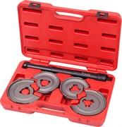 Стяжка амортизаторных пружин, центральная, кованая, дисковые держатели, кейс, 5 предметов МАСТАК 100-01005C