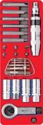 Набор демонтажный с ударной отверткой, ложемент, 24 предмета МАСТАК 5-19424