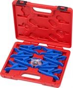Набор заглушек для патрубков с металлическими наконечниками, кейс, 8 предметов МАСТАК 102-10001C