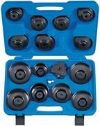 Набор съемников масляных фильтров, 66-108 мм, 16 предметов KING TONY 9AE2016