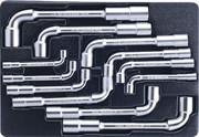 Набор торцевых ключей L-образных, ложемент, 12 предметов KING TONY 9-1812MR