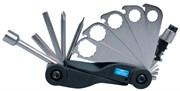 Набор инструментов для ремонта велосипедов, 17 предметов KING TONY 20A17MR