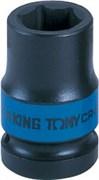 "Головка торцевая ударная шестигранная 1/2"", 10 мм KING TONY 453510M"