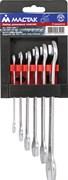 Набор рожковых ключей, 6-19 мм, 6 предметов МАСТАК 0220-06H