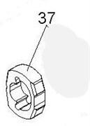 Ремкомплект для гайковертов 33411-040, 33411-050, 33611-055, молоток KING TONY 33411-A37