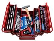 Набор инструментов универсальный, раскладной ящик, 88 предметов KING TONY 902-089MR01