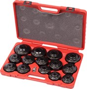 Набор съемников масляных фильтров, 15 предметов МАСТАК 103-40015C