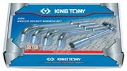 Набор торцевых L-образных ключей, 6-32 мм, 26 предметов KING TONY 1826MR