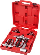 Съемник подшипников 15 т, 2-х захватный, сегментного типа, кейс, 14 предметов МАСТАК 104-12015C