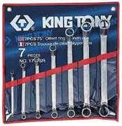 """Набор накидных ключей, 1/4""""-9/8"""", 7 предметов KING TONY 1707SR"""